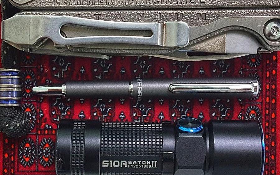 6. Zebra SL-F1 Mini Ballpoint Pen
