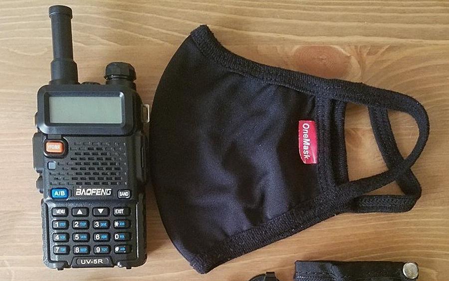 4. BaoFeng UV-5R Two-Way Radio