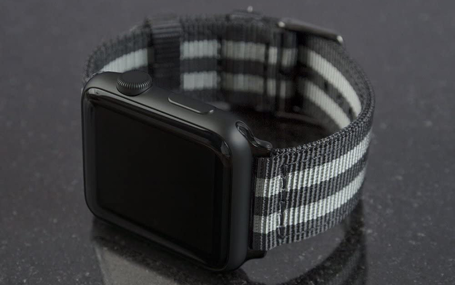 Archer Watch Straps Nylon Apple Watch Band