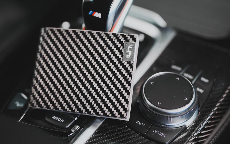 Common Fibers LMX Carbon Fiber Bifold Wallet