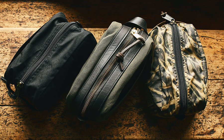 Filson Backpack Dry Bag and Travel Kit
