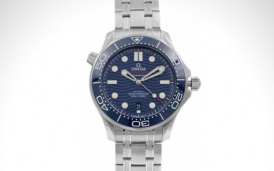 1. Omega Seamaster Diver Co-Axial Master