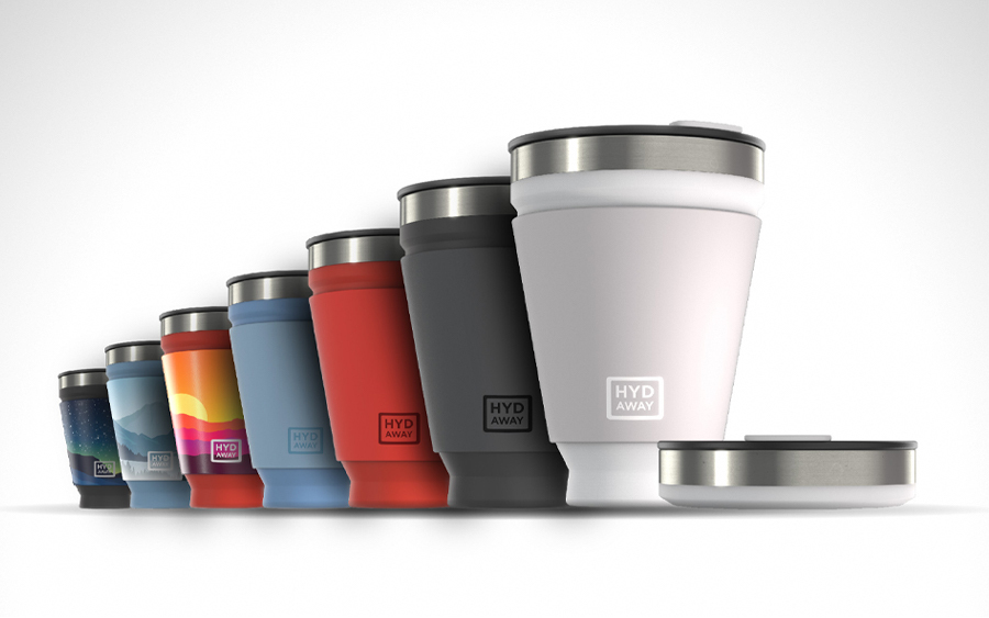 HYDAWAY Collapsible Drink Tumbler