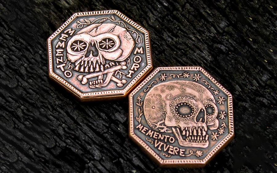 Shire Post Mint Memento Mori Coin