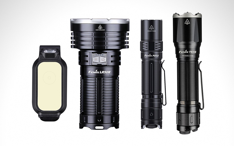 Our Favorite New Fenix Flashlights for 2021