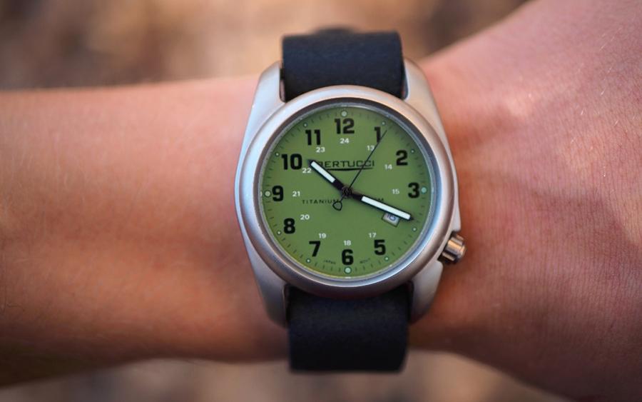 Trending: Bertucci 12022 A-2T Ti Field Watch