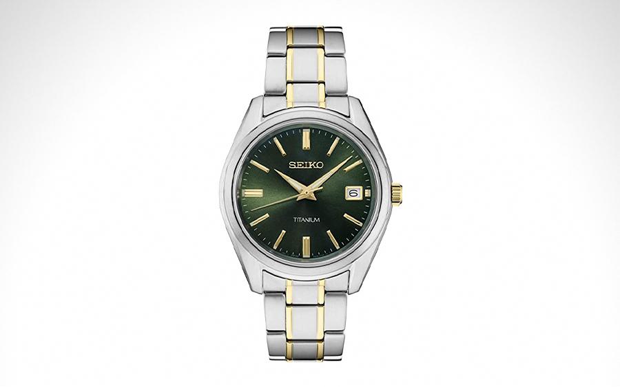 Seiko SUR377 Titanium Watch
