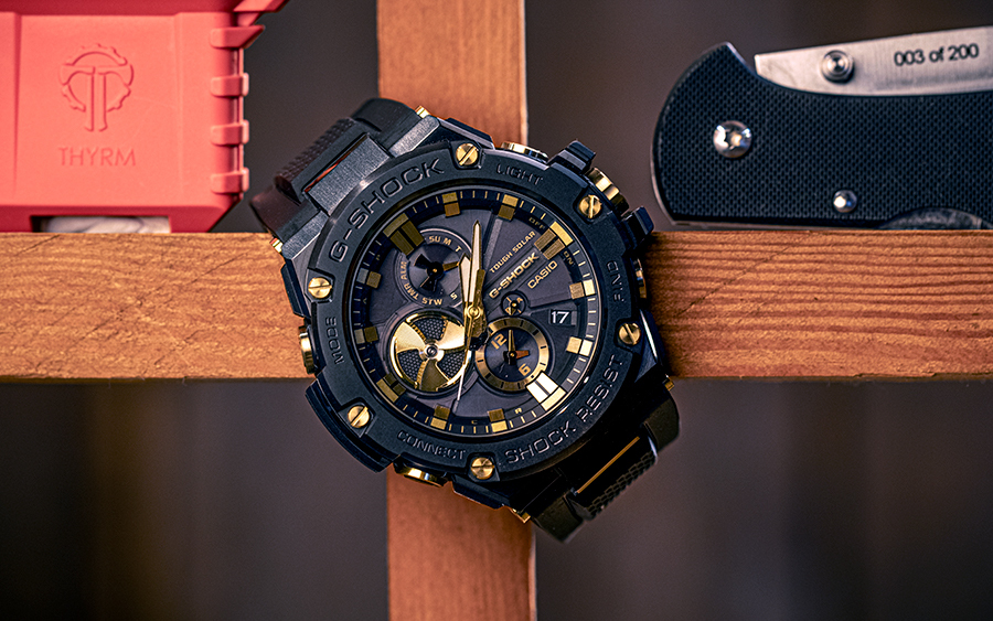 G-SHOCK G-STEEL GSTB100GC-1A