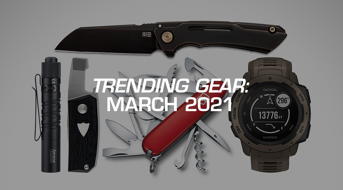 Trending Gear: March 2021