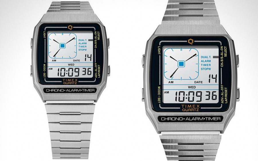 Timex Q Reissue LCA Digital Watch