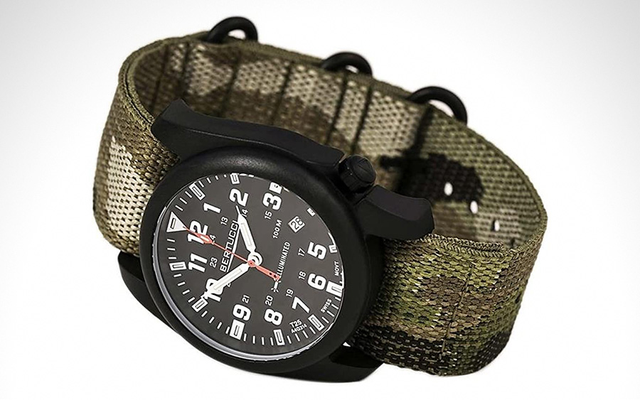 1. Bertucci A-5P Illuminated Field Watch