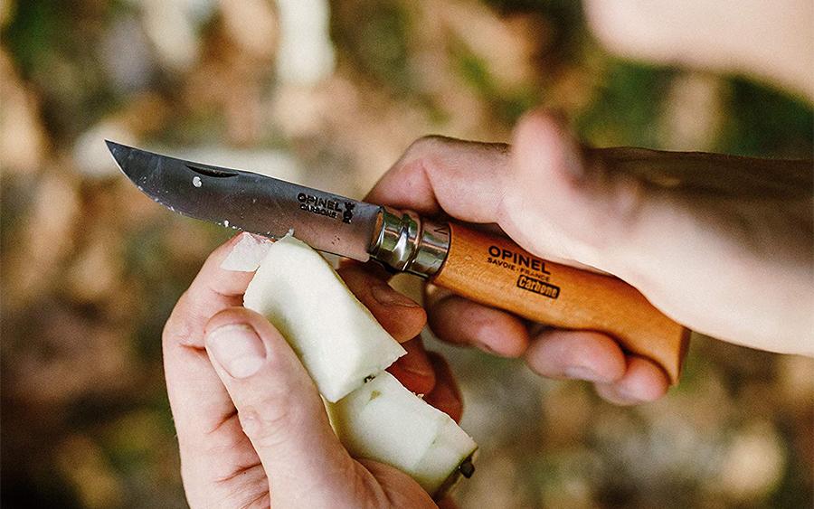 Opinel No. 9 Carbon Pocket Knife