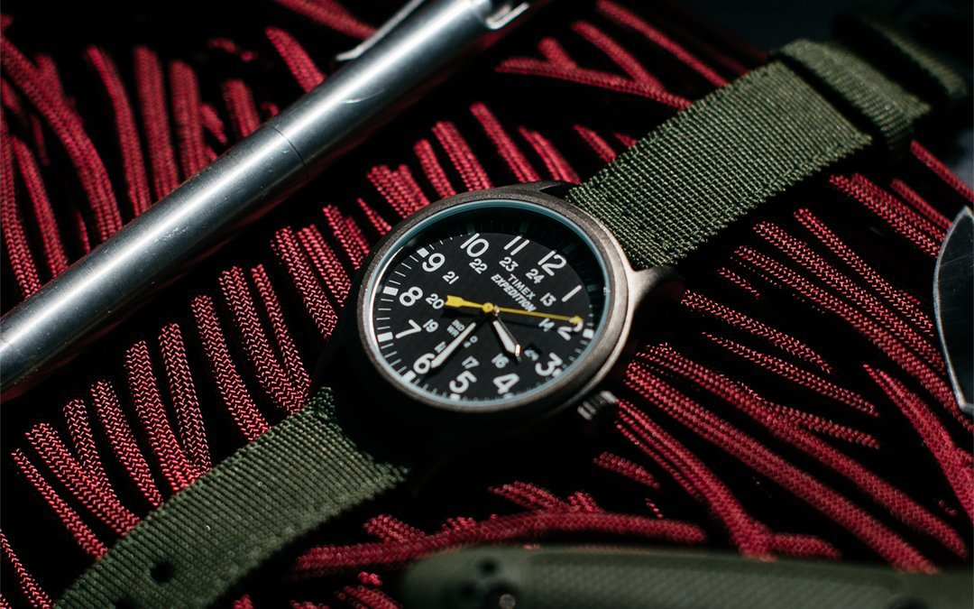 Timex Expedition Scout Military Watch