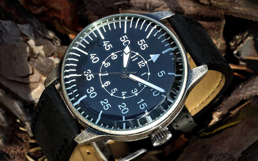 Mil-Tec Aviator Military Watch