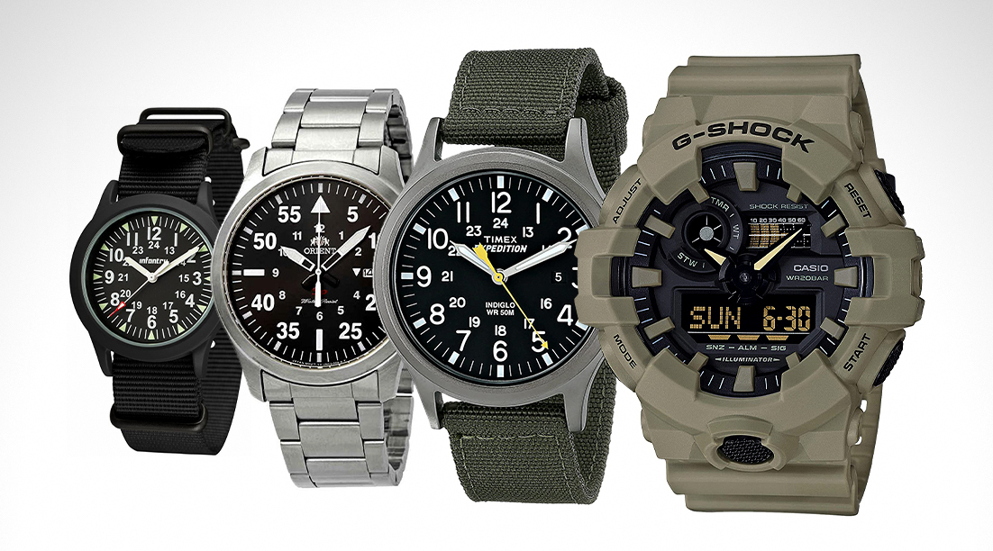 The 10 Best Military Watches Under $100 in 2021