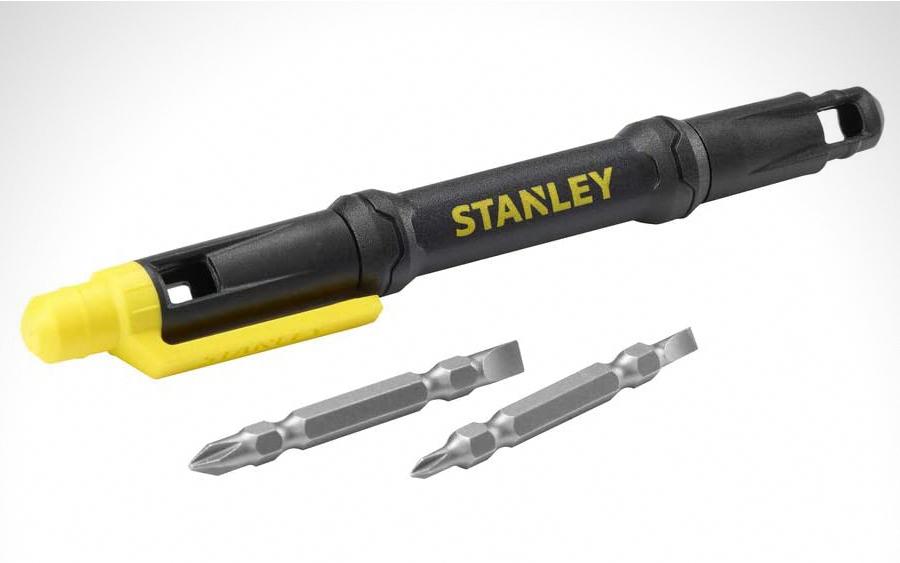6. Stanley 4-in-1 Pocket Screwdriver