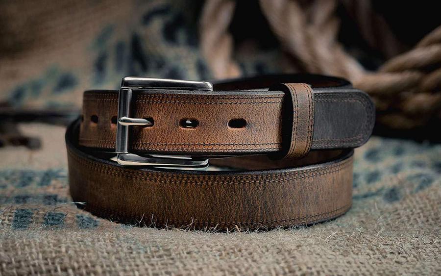 Hanks Montana Bison Belt