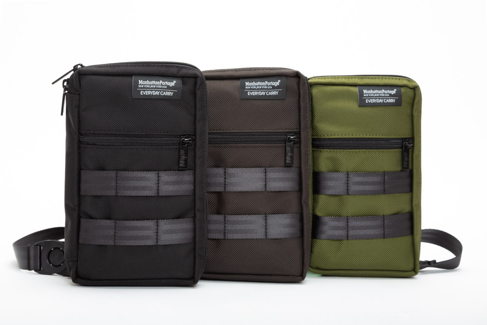 Black, Charcoal Grey, and Olive Green color options