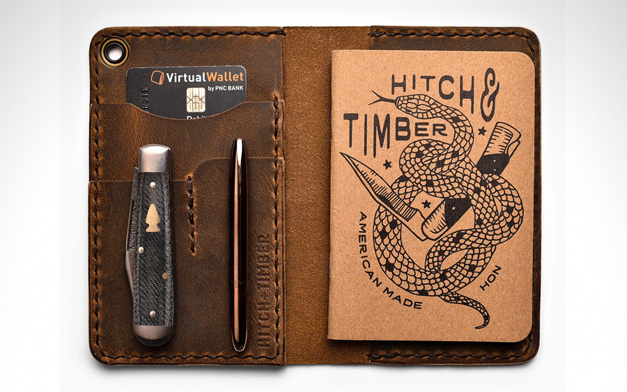 Hitch and Timber County Fold Wallet