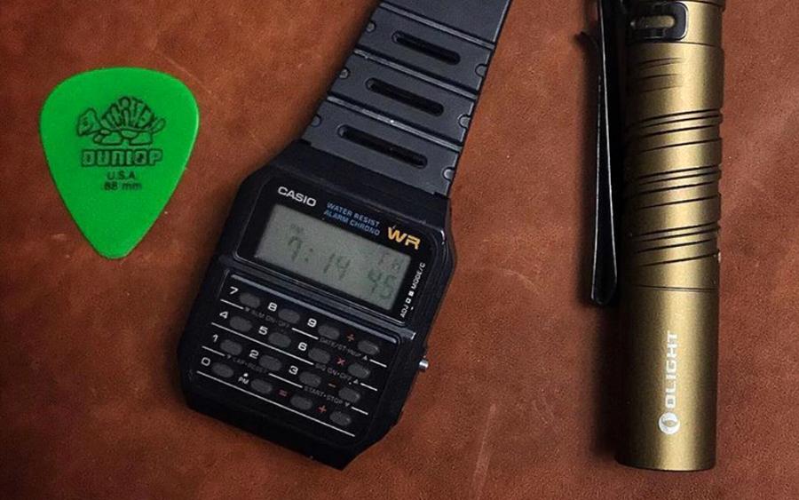 Trending: Casio CA53W-1 Calculator Watch
