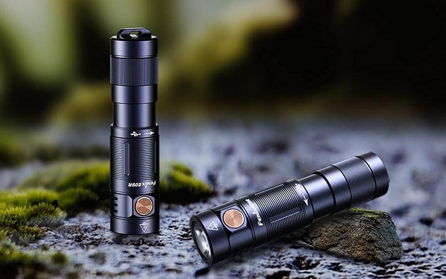 Fenix E09R Rechargeable Keychain Flashlight