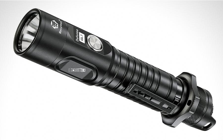 RovyVon GL7 18650 Flashlight