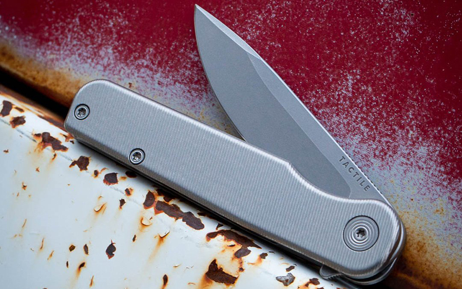 """Tactile Knife Co. """"the Rockwall"""" Knife"""